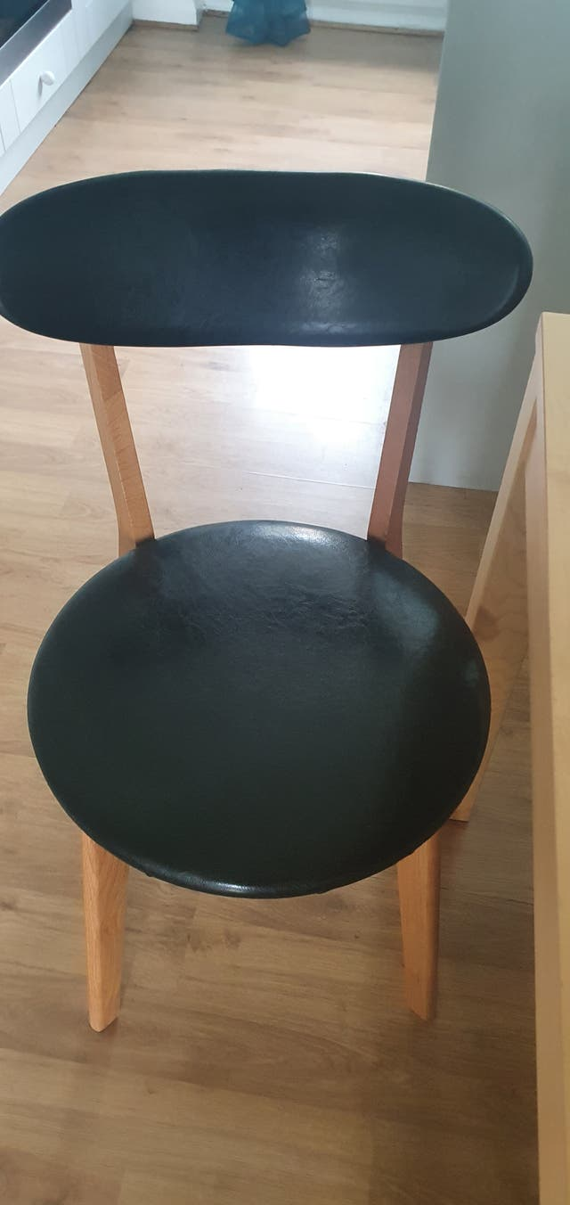 dinning table and 6 chairs only collection horsham