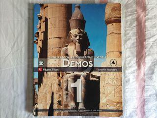 Libro de 1° ESO Geografía e Historia Nuevo Demos