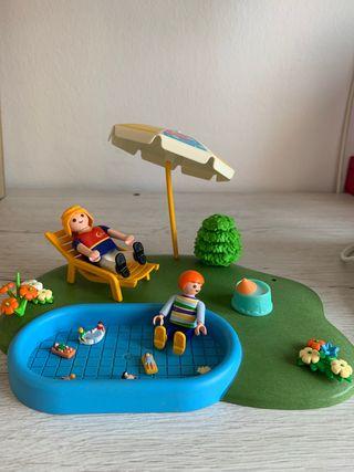 Piscina de Playmobil