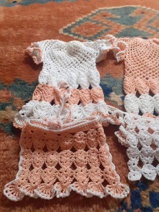 vestidos de muñeca brotado