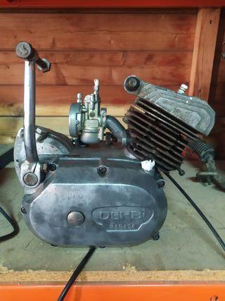 motor Derbi rabasa 50cc