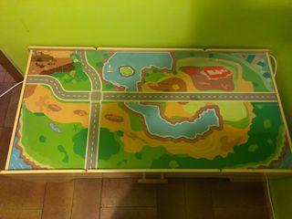 Mesa tren juegos niños