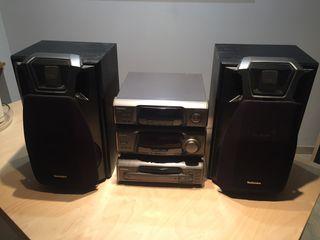 Equipo de música Technics SH-EH600