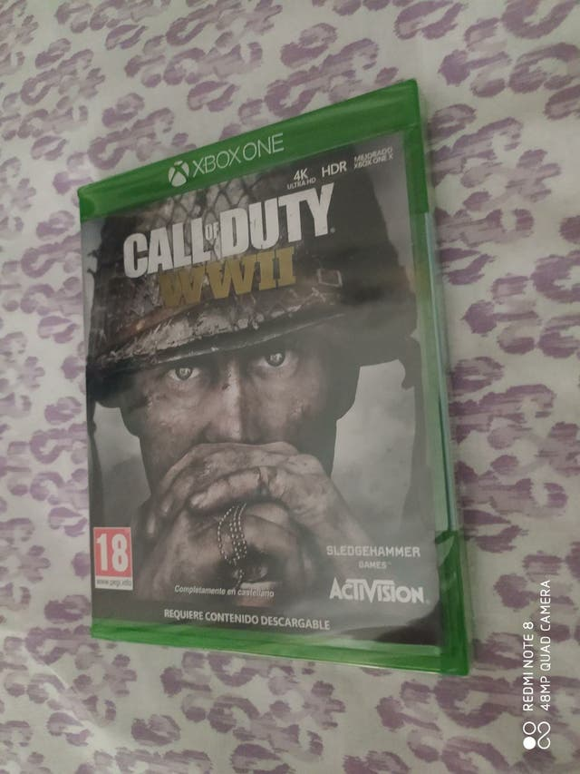 Videojuego Xbox one Call of duty WWII precintado
