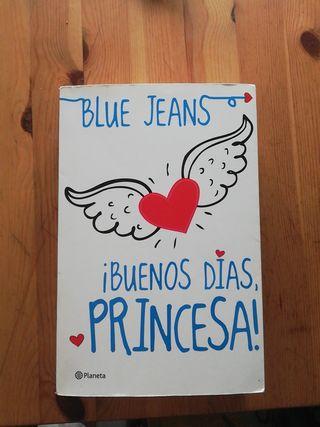 libro buenos días princesa de blue jeans