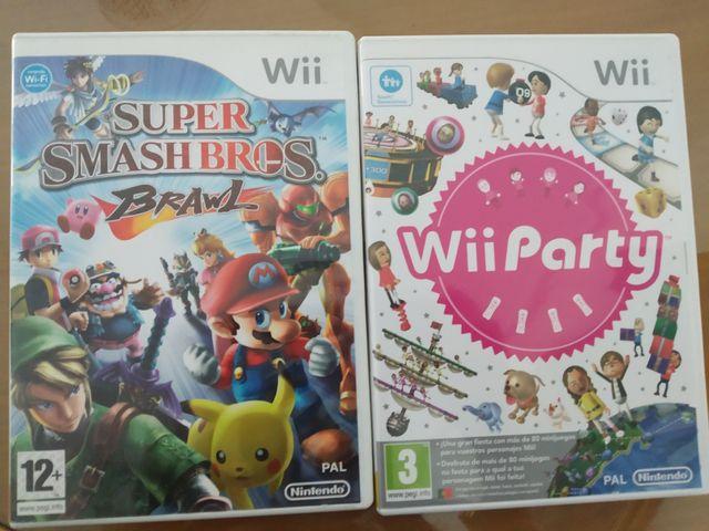 Dos juegos para la Nintendo wii