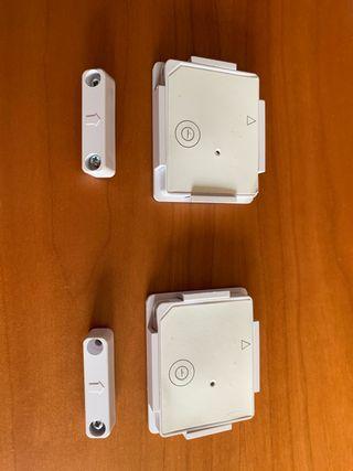 Sensores magnéticos vía radio para alarma GT