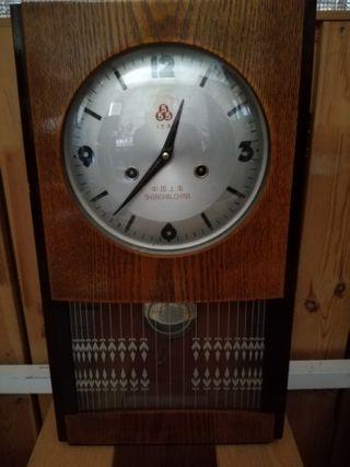 Reloj de pared, Vintage. Funciona por mecanismo de
