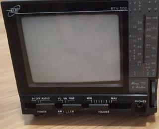 TV con Radio Pequeña