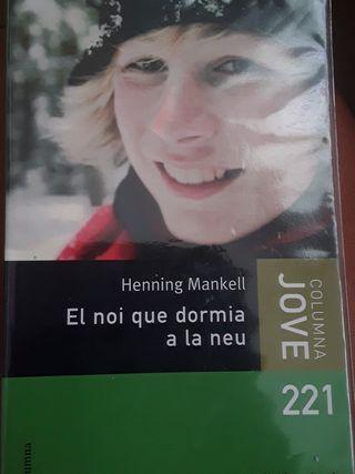 El noi que dormía a la neu. Henning Mankell