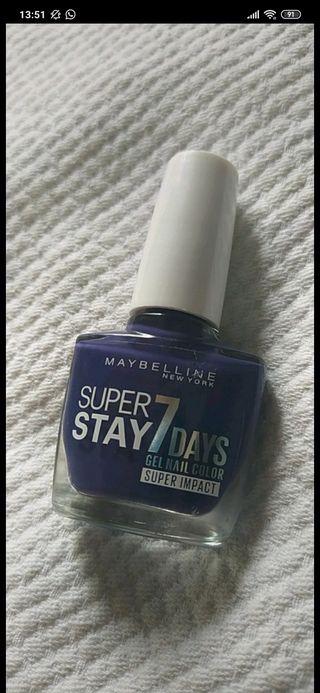 Pintauñas Maybelline Super Star 7 days