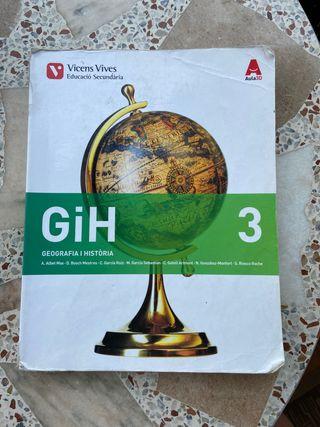 Libro de Geografía y Historia- 3ºESO