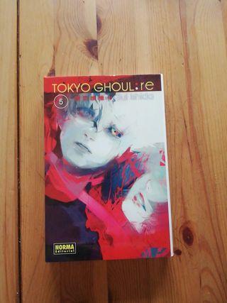 manga tokyo ghoul: re tomo 5