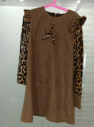 Vestido artesanal t 10
