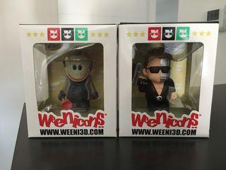Lote 2 figuras Weenicons Terminator y Viernes 13