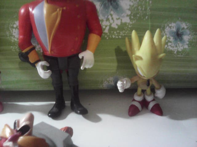 LOTE FIGURAS SONIC THE HEDGEHOG
