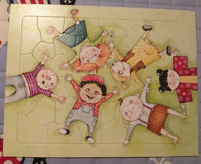 puzzle infantil Ikea