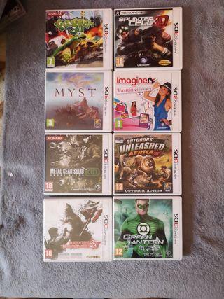 Nintendo 3DS lote de juegos