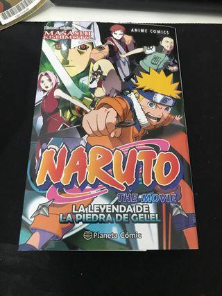 Naruto La leyenda de la piedra del Gelel