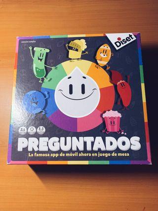 JUEGO DE MESA PREGUNTADOS
