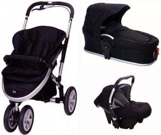 Carrito de bebé CasualPlay S4 3 piezas
