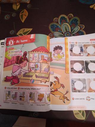 libros de ingles de segundo de primaria