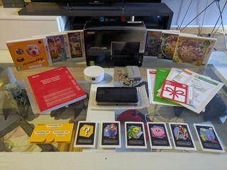 Lote Nintendo 3DS con 6 juegos y accesorios