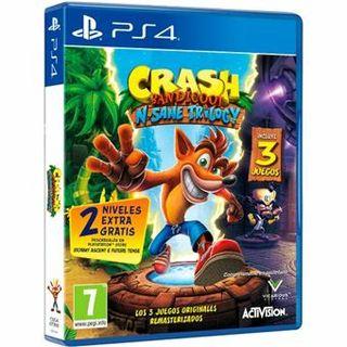 Juego Crash Bandicoot N sane trilogy PS4