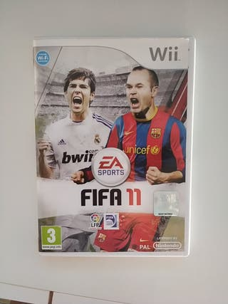 videojuego Wii - Fifa 11
