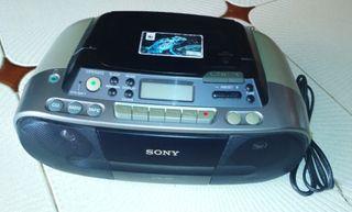 Sony radio, CD, cassette