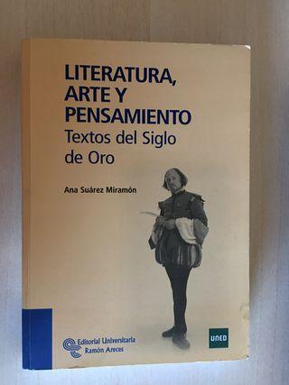 LITERATURA, ARTE Y PENSAMIENTO, Ana Suárez Miramón