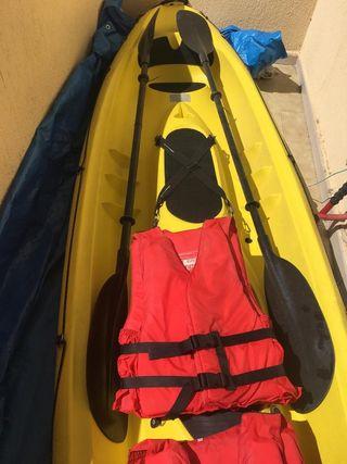 Kayak bic Sport 2+1plazas