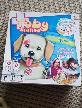Juguete infantil, Toby malito.