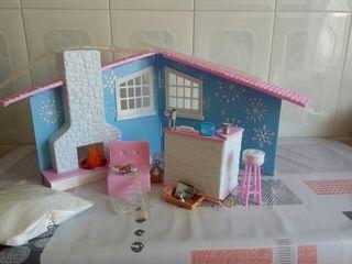Chalet casa muñecas Barbie, Moxies Girls, ..