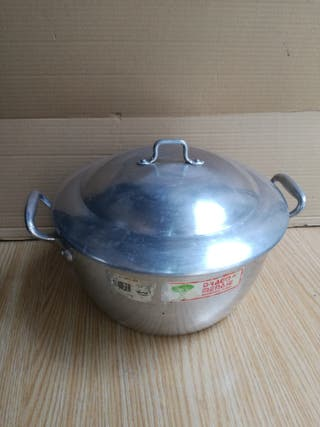 Caldero de aluminio DRAGO, 26 cm, Vintage.