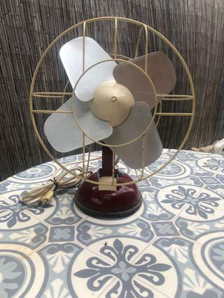 Ventilador antiguo philips funcionando a 125