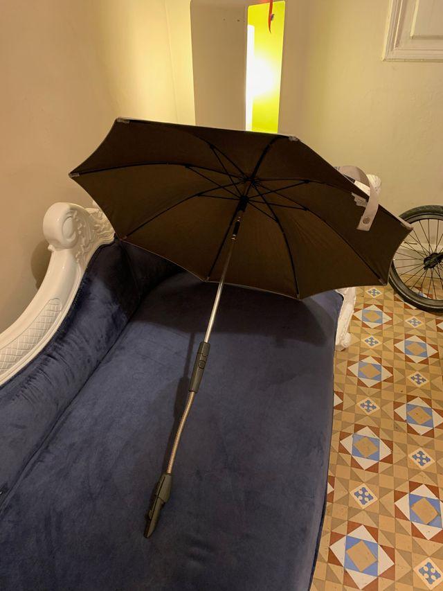 Sombrilla Stokke Beige. Parasol cochecito Stokke