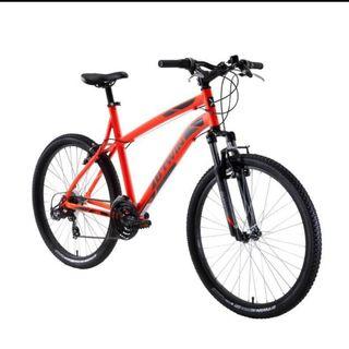 Bicicleta btwin naranja