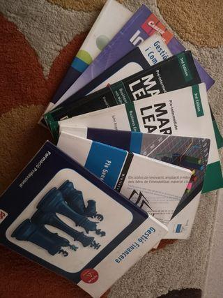 vendo libros Fp de administración y finanzas