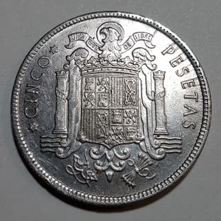 5 PESETAS AÑO 1949
