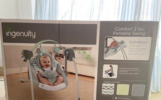Hamaca o columpio eléctrico bebé