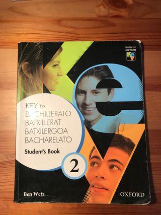 Libro de Inglés para 2 de bachillerato