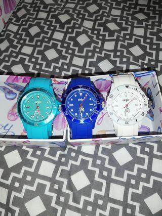 pack relojes de chica