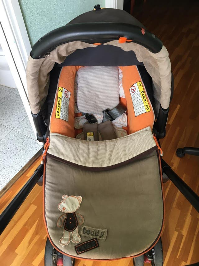 Coche de bebé marca JANE - Taddy bear collection