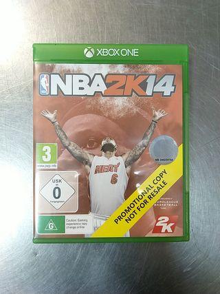 NBA 2k14, XBOX ONE