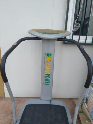 Máquina gimnasia pasiva y vibración