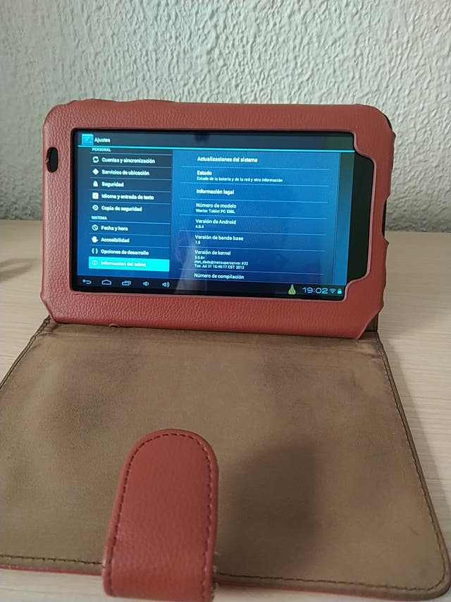 """tablet 7"""" Woxter"""