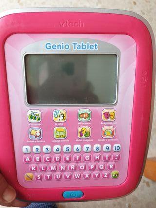 tablet de juegos infantil