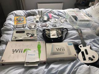 Nintendo Wii, Balance Board + 35 Games