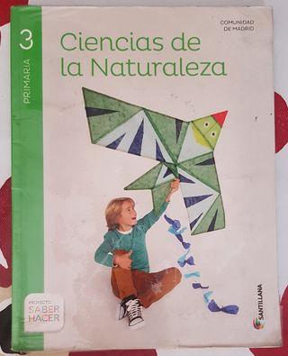 Ciencias de la naturaleza 3 Primaria. Santillana